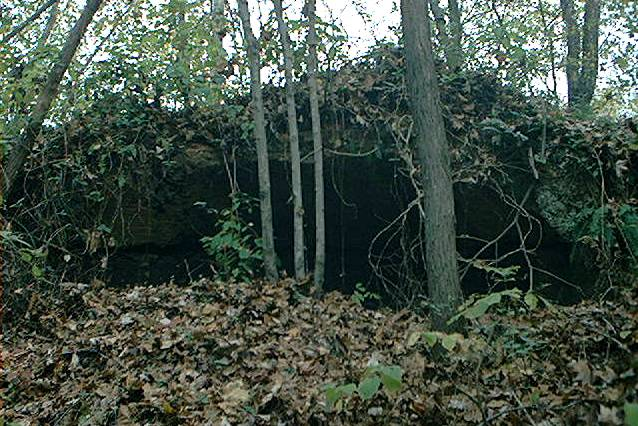 Old coke oven on Logtown Road